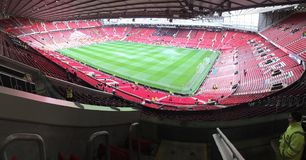 Old Trafford Panoramic Stock Photo
