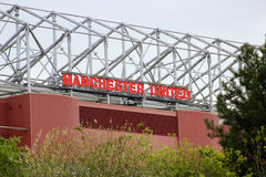 Old Trafford Side View Stock Photography