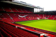 Old Trafford stadium Stock Photo