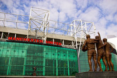 OLD TRAFFORD STADIUM Stock Photos