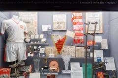 Manchester, UK Manchester United team museum memorabilia.