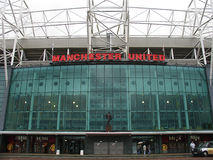 Old Trafford stadium. Stock Photos