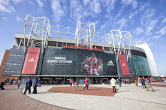 Old Trafford stadium Royalty Free Stock Photography