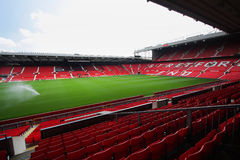 Old trafford stadium. July 28 : Old trafford on July 28, 2008 is a football stadium in Old Trafford, Greater Manchester, England, and the home of Manchester Stock Photos