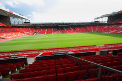 Old trafford stadium. July 28 : Old trafford on July 28, 2008 is a football stadium in Old Trafford, Greater Manchester, England, and the home of Manchester Stock Photo