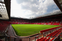 Old trafford stadium. July 28 : Old trafford on July 28, 2008 is a football stadium in Old Trafford, Greater Manchester, England, and the home of Manchester Stock Photography