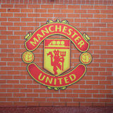 Old trafford stadium. July 28 : Old trafford on July 28, 2008 is a football stadium in Old Trafford, Greater Manchester, England, and the home of Manchester Royalty Free Stock Images