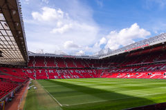 The Old Trafford stadium Royalty Free Stock Images