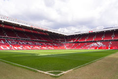 The Old Trafford stadium Royalty Free Stock Photography