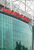 Old Trafford Stadium - Manchester United Royalty Free Stock Photo