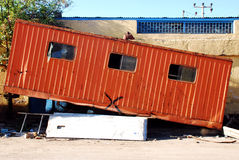 Old Trailer Stock Image