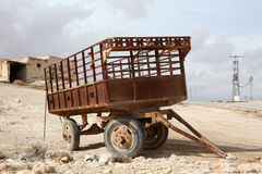 Old trailer Royalty Free Stock Photos
