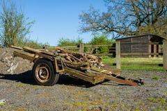 Old trailer Stock Photos