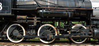 Old Train. Image taken of an old train resting at French Lick train station Stock Image