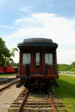 Old Train. Image taken of an old train resting at French Lick train station stock photography