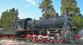 Old train, 1920-th years Stock Photos