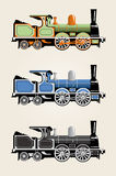 Old train Royalty Free Stock Photos