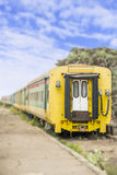 Old train, abandoned railway station of Dakar, Senegal Royalty Free Stock Images