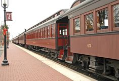 Free Old Train At Train Station Royalty Free Stock Photo - 426775