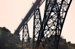 Old train bridge Royalty Free Stock Photography