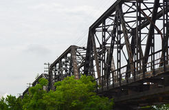 Old train bridge Stock Photos