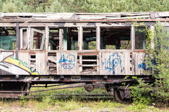 Old train car Royalty Free Stock Photography