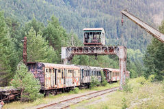 Old train car Royalty Free Stock Images