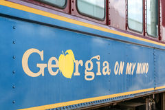 An old train car from Georgia Royalty Free Stock Image