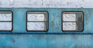 Old train carriage Stock Image
