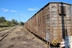 Old Train Carriage Stock Photography