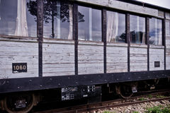 Old train carriage Royalty Free Stock Photography