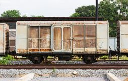 Old train container Stock Photography