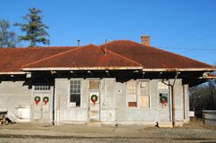Old train depot Royalty Free Stock Photography