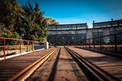 Old train depot, Krakow, Poland royalty free stock image