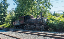Old Train Engine Stock Photography