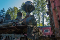 Old Train Engine 3 Royalty Free Stock Images