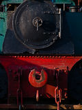 Old Train  Locomotive front view Stock Photos
