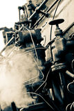 Old train steam detail Royalty Free Stock Photography