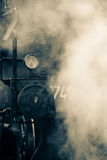 Old train steam Stock Photography