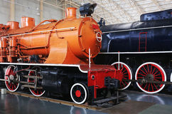 Old Train Locomotives Royalty Free Stock Photography