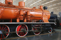 Old Train Locomotives Royalty Free Stock Images