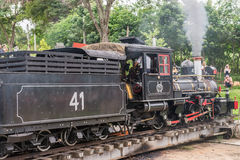 Old train (Maria Fumaca) in Tiradentes, a Colonial city Stock Photography