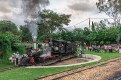 Old train (Maria Fumaca) in Tiradentes, a Colonial city Stock Image