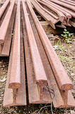Old train rails Royalty Free Stock Image