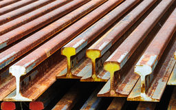 Old train rails Royalty Free Stock Photography