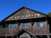 Old train station. Historical Grand Canyon train station Stock Photos