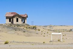 Ghost town in Namibia Royalty Free Stock Photo