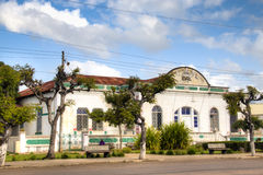 Old train station in Inhambane Stock Image