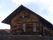 Old Train Station in Leadville CO Royalty Free Stock Photo