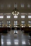 Old train station new renovation Stock Photo